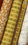 quilt ткани Стоковое Изображение