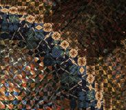 Quilt Arch Abstract Stock Image