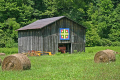 Quilt Barn Stock Image