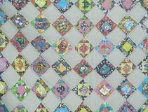 Quilt-Beautiful Patch work Stock Photos