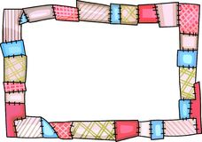 QUILT BORDER Stock Image