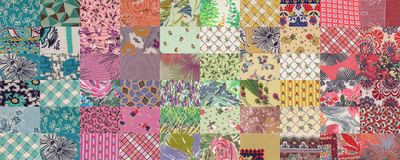 Quilt color background Royalty Free Stock Photography