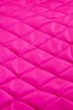 Quilt cor-de-rosa Fotografia de Stock