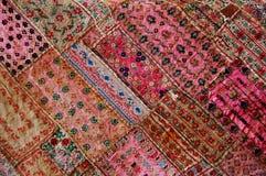 Quilt cor-de-rosa Fotos de Stock