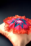 Quilt craft, pillow Stock Photography