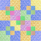 Quilt design Stock Photography