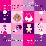 Quilt do bebé Imagem de Stock Royalty Free