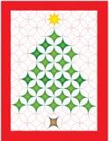 Quilt do Natal Imagens de Stock