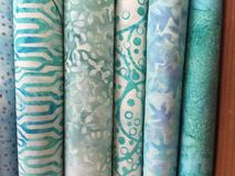 Quilt Fabric Background Royalty Free Stock Photo