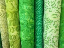 Quilt Fabric Background Royalty Free Stock Images