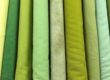 Quilt Fabric Background Stock Photography