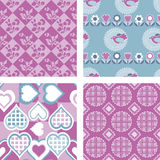 Quilt Fabric Patterns Royalty Free Stock Image