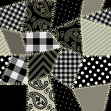 Quilt pattern Stock Photography