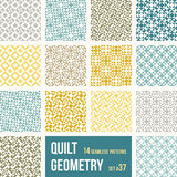Quilt Patterns Royalty Free Stock Image
