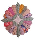 quilt s 1920 блоков цветастый изолированный Стоковые Фото