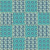 Quilt seamless pattern 6 Royalty Free Stock Image