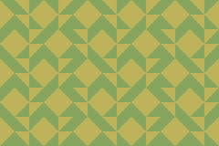 Quilt Seamless Pattern Stock Photo