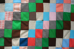 Quilt Texture 2 Stock Photography