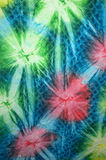 Quilt Tie Dye 1. Tie-dye fabric Royalty Free Stock Image