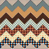 Quilt zigzag Stock Photography