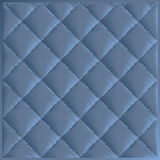 Quilted fabric polyester fiber. Vector pattern in the style of quilted synthetic winterizer Stock Image