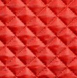 Quilted fabric Stock Image