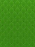 Quilted green background Royalty Free Stock Images