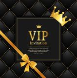Quilted Invitation Card. Vector Royalty Free Stock Images