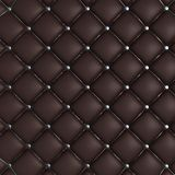 Quilted Leather Background Stock Photos