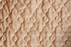 Quilted satin fabric Royalty Free Stock Photography