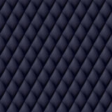 Quilted seamless pattern. Black color Royalty Free Stock Photo