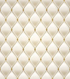 Quilted seamless pattern. Cream color. Royalty Free Stock Images