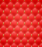 Quilted seamless pattern. Red color Royalty Free Stock Images