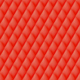 Quilted seamless pattern. Red color Stock Images
