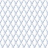 Quilted seamless pattern. White color Royalty Free Stock Photography