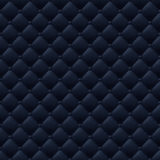 Quilted simple seamless pattern. Black color. Stock Photos