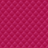 Quilted simple seamless pattern. Red color. Royalty Free Stock Photo
