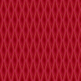 Quilted simple seamless pattern. Red color. Stock Photography