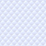 Quilted simple seamless pattern. White color. Royalty Free Stock Photos