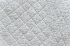 Quilted White Natural Textiles Stock Photos