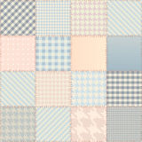 Quilting design background. Royalty Free Stock Photography