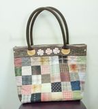 Quilting Hand Bag,Handmade Hand Bag Royalty Free Stock Photo