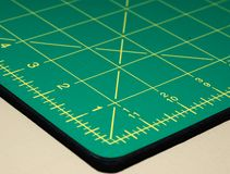 Quilting Measurement Tool Royalty Free Stock Image