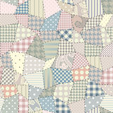 Quilting pattern. Seamless background pattern. Will tile endlessly Stock Photo