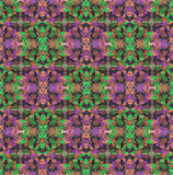Quilting pattern for the Christmas Season Royalty Free Stock Photography