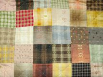 Quilting pattern Royalty Free Stock Photography