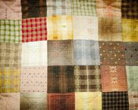 Quilting pattern Royalty Free Stock Images