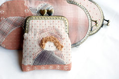 Quilting purses. Royalty Free Stock Photography