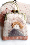 Quilting purses. Quilting purses,the hand sewing crafts Royalty Free Stock Photo