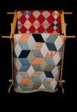 quilts rack two Στοκ εικόνες με δικαίωμα ελεύθερης χρήσης